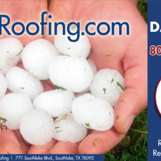 Hail and Storm Damage - I35 Roofing