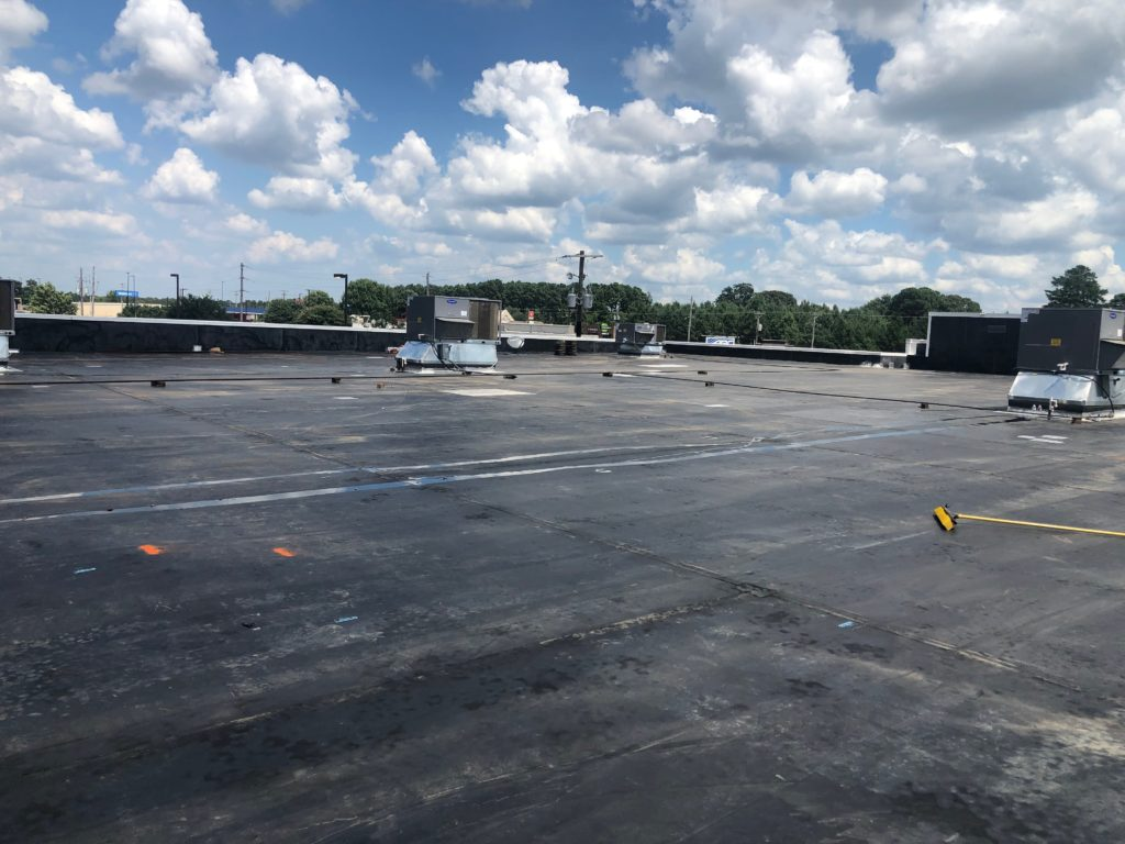 EPDM Cleaned Prior to Coating