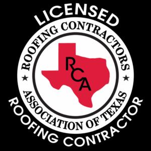 Roofing Contractors Association of Texas Licensed Contractor
